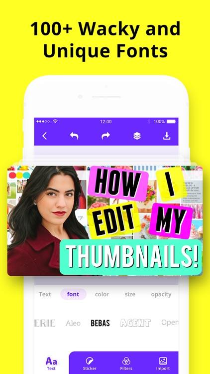 Thumbnail Maker & Channel Art screenshot-5