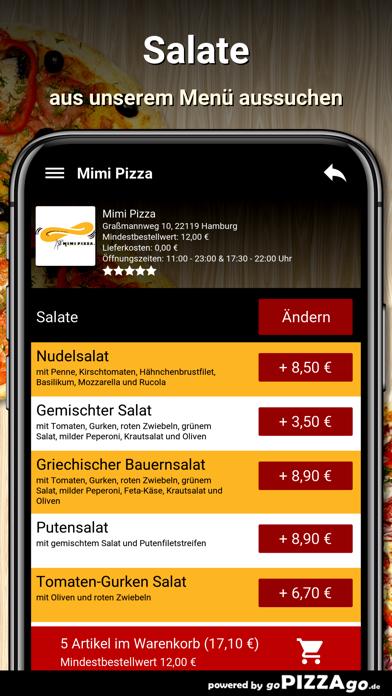 Mimi Pizza Hamburg screenshot 5