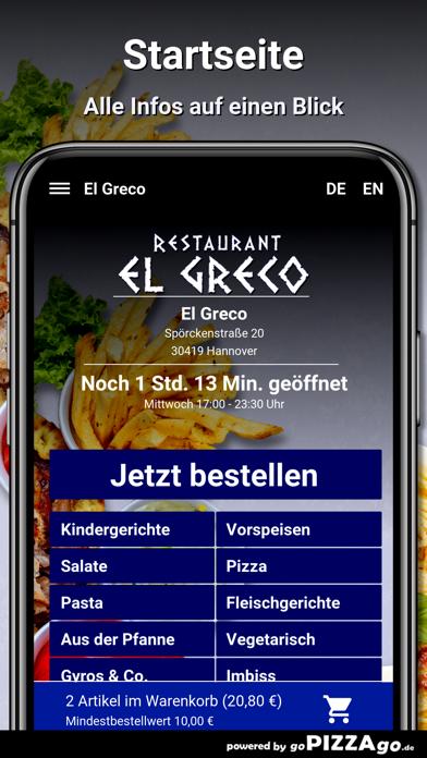El Greco Hannover screenshot 2