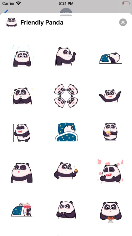 Friendly Panda Animated Emoji