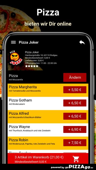 Pizza Joker Rodgau screenshot 5