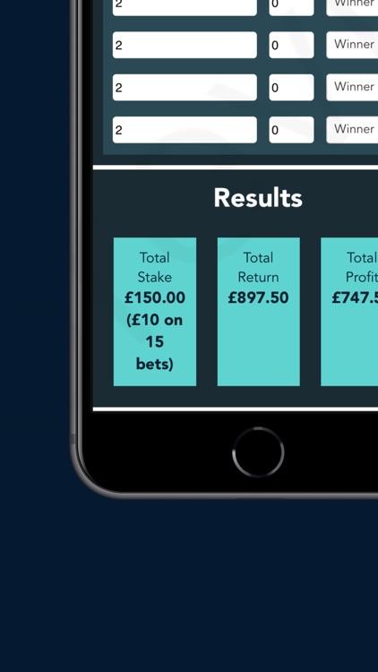 WhichBookie Bet Calculator screenshot-3