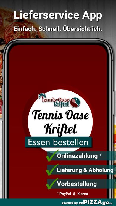 Tennis Oase Kriftel Pizza screenshot 1