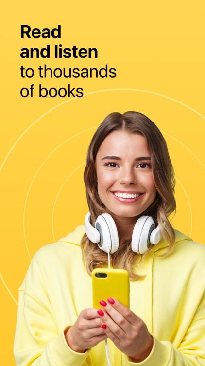 MyBook: books and audiobooks screenshot-0
