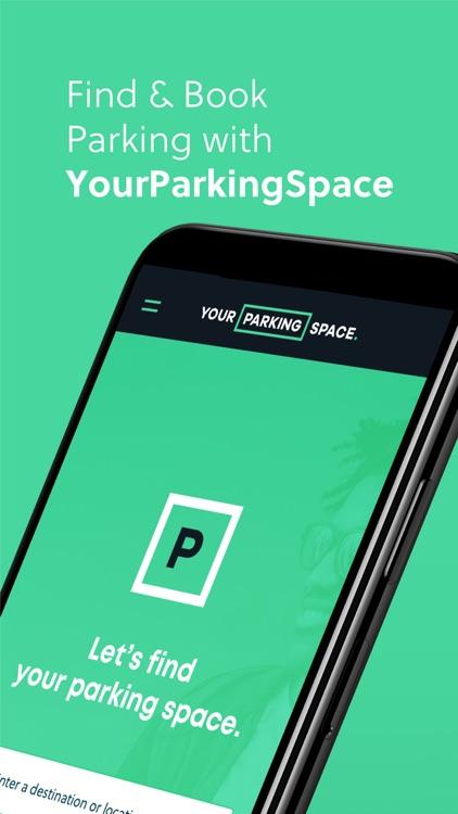YourParkingSpace - Parking App