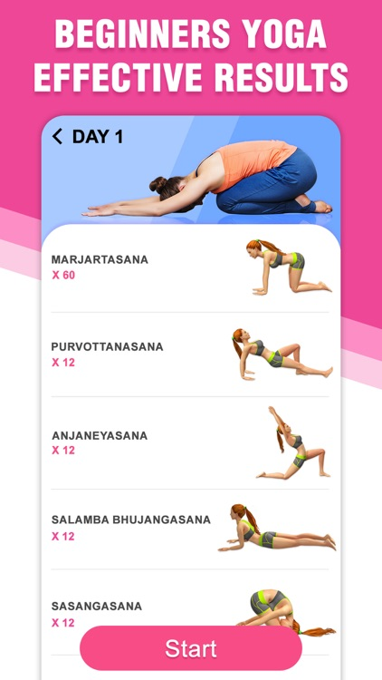 Yoga for Beginners   at Home screenshot-3