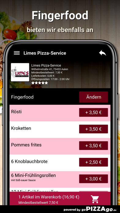 Limes Pizza-Service Aalen screenshot 6