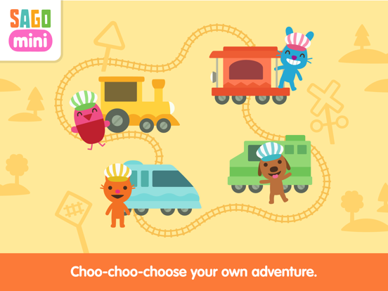 Sago Mini Train Adventure screenshot 8