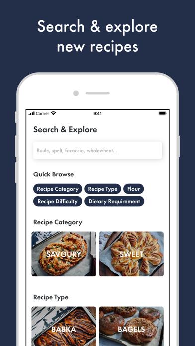 Kneady: Bread Recipes & BakingScreenshot of 3
