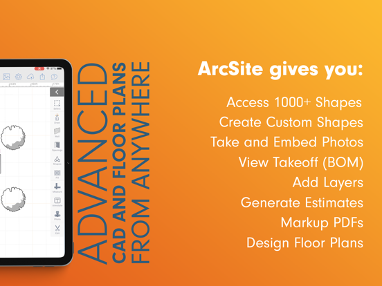 ArcSite - easy CAD drawing & collaboration screenshot