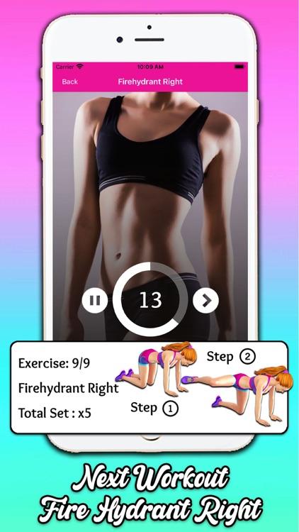 Fat Burning Workout at Home screenshot-8