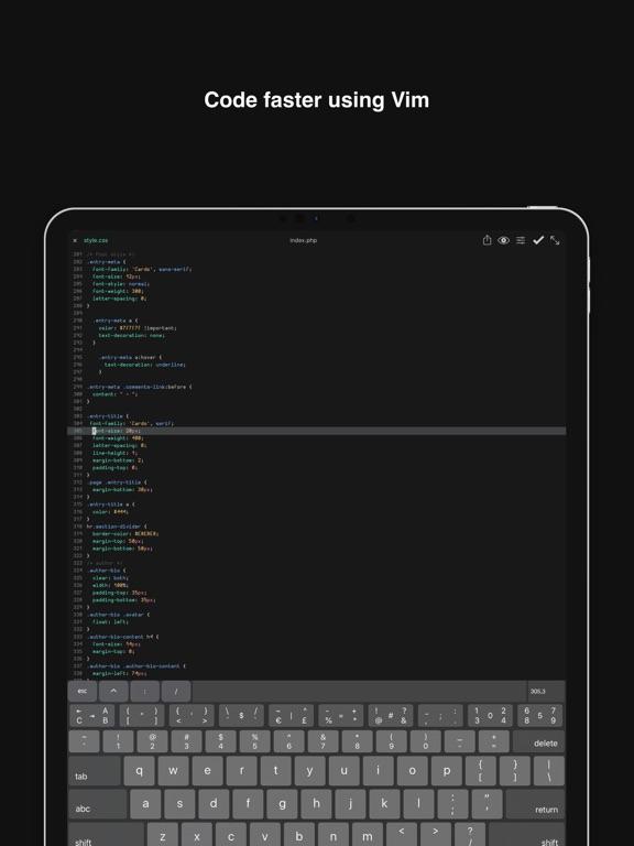 Buffer Editor - Code Editorのおすすめ画像3