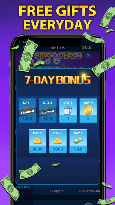 Bingo Clash: Win Real Cash screenshot 4