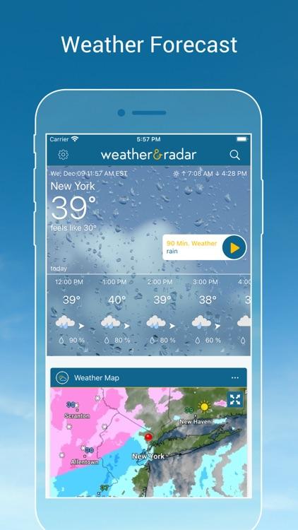 Weather & Radar USA Pro screenshot-0