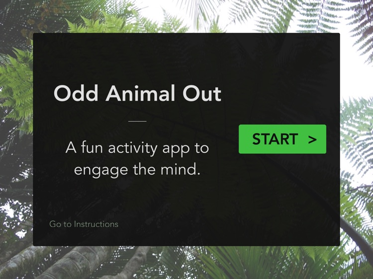 Odd Animal Out