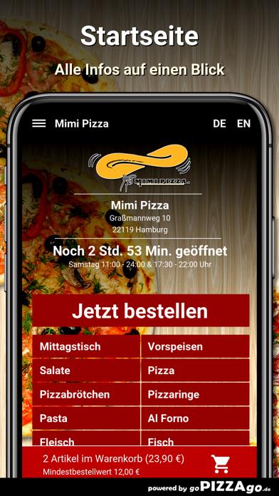 Mimi Pizza Hamburg screenshot 2