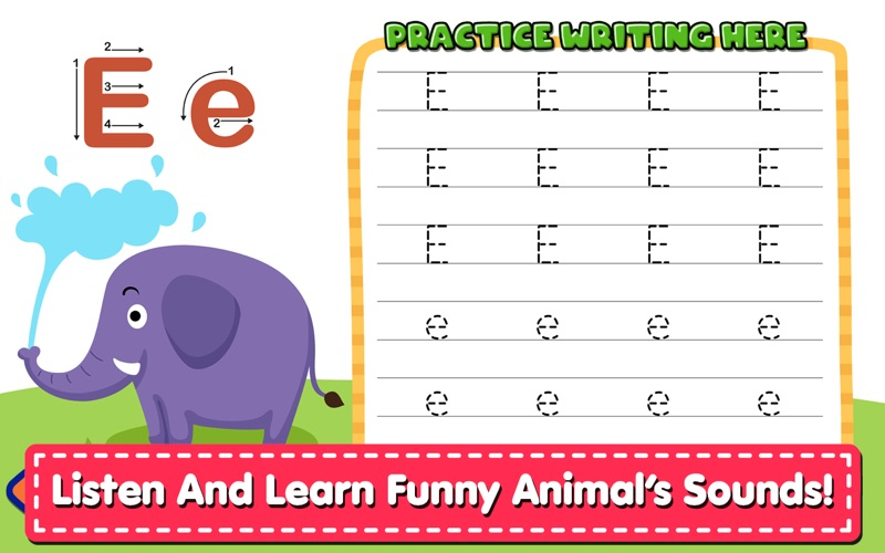 Alphabet Writing For Kids screenshot 6