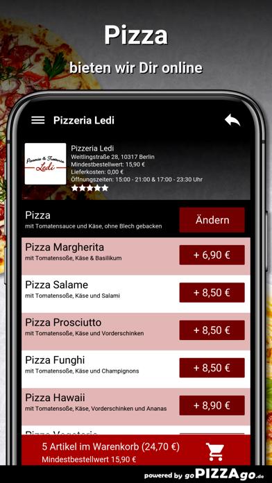 Pizzeria Ledi Berlin screenshot 5