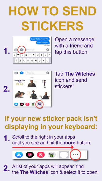 The Witches Movie Sticker Pack screenshot-3