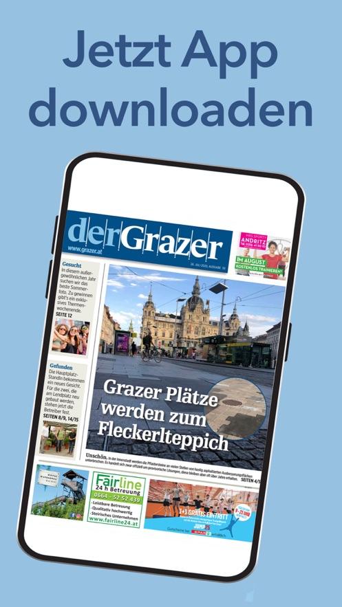 der Grazer E-Paper Zeitungapp设计与开发