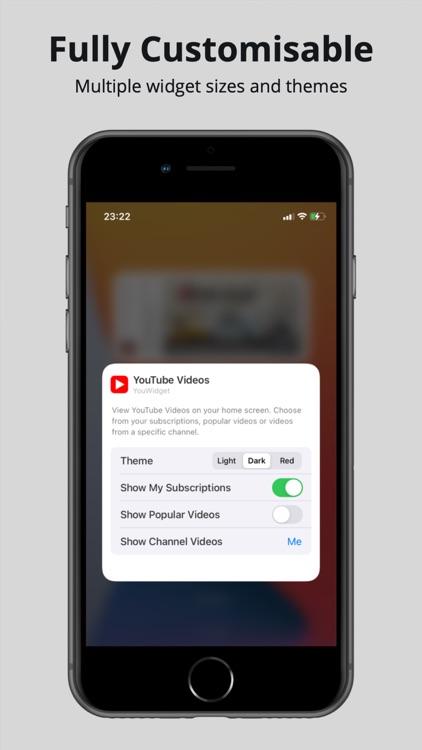 YouWidget - Widget for YouTube screenshot-4