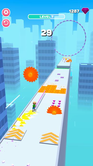 Roof Jumper 3D screenshot 9