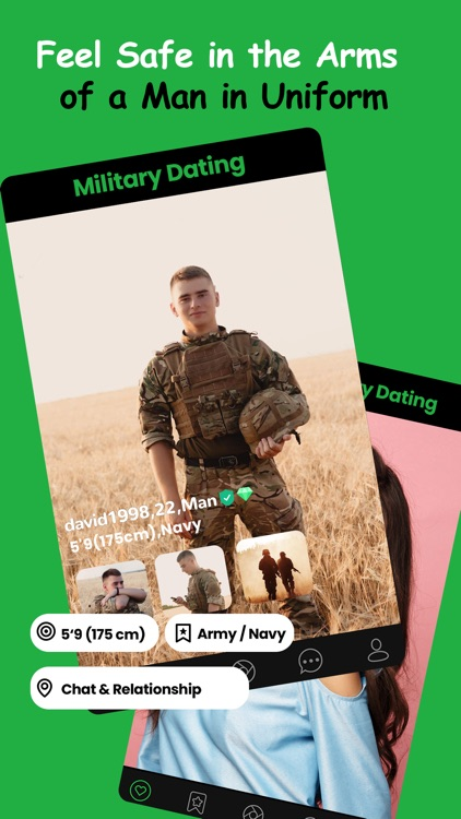 Military Dating App - MD Date screenshot-3