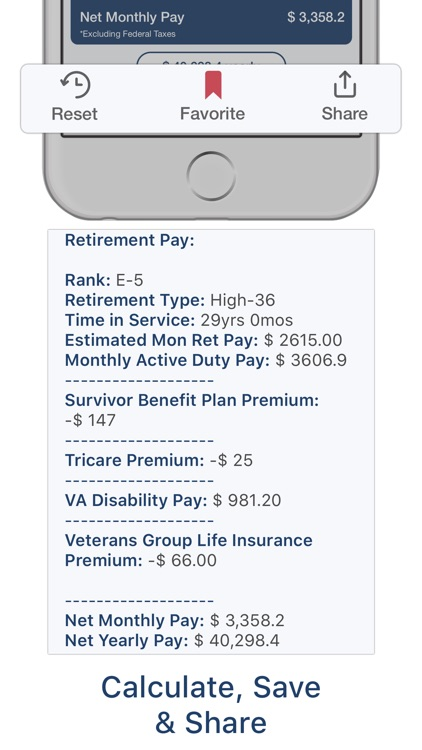 Military Retire Pay screenshot-7