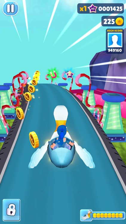 Princess Run 3D -Subway Runner screenshot-3