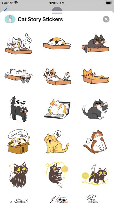 Cat Story Stickers screenshot 2