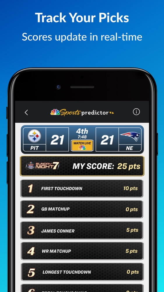 Nbc Sports Predictor App For Iphone Free Download Nbc Sports Predictor For Iphone At Apppure