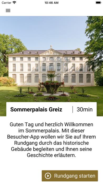 Sommerpalais Greiz screenshot 2