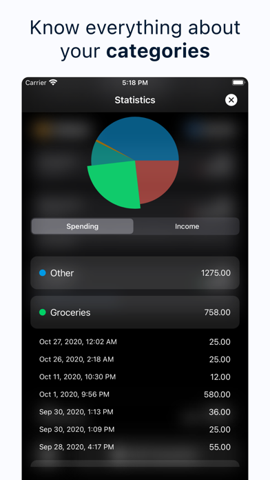 Spendy - Spendings reimaginedのおすすめ画像6