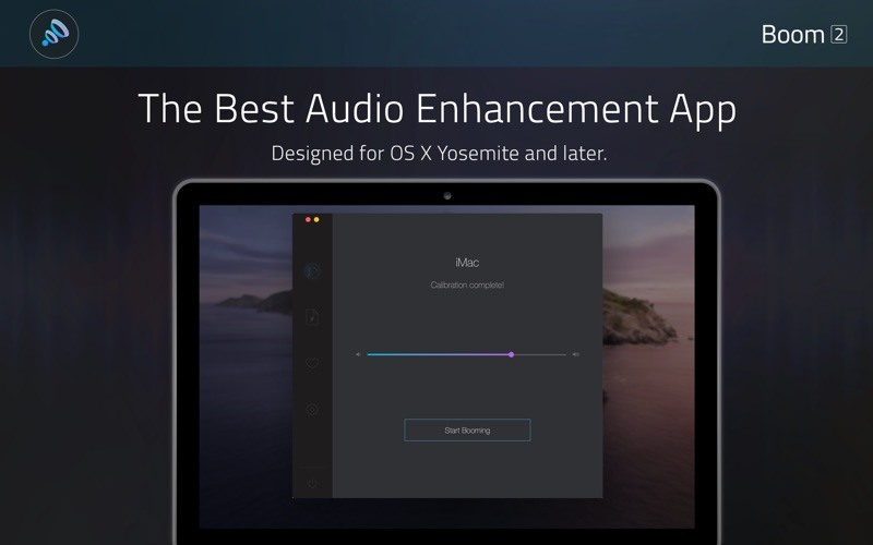 Boom2:Volume Boost & Equalizer Screenshots