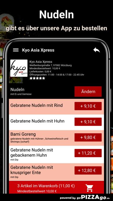 Kyo Asia Xpress Würzburg screenshot 6