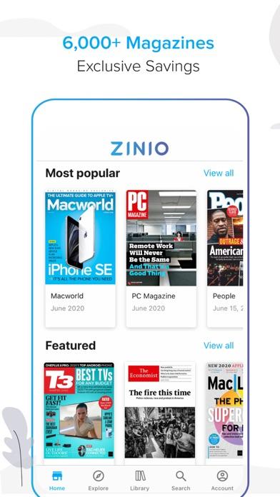 ZINIO - マガジンニューススタンド screenshot1