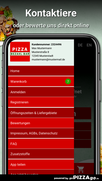 Pizza Bezahl-Bar Fürth screenshot 3