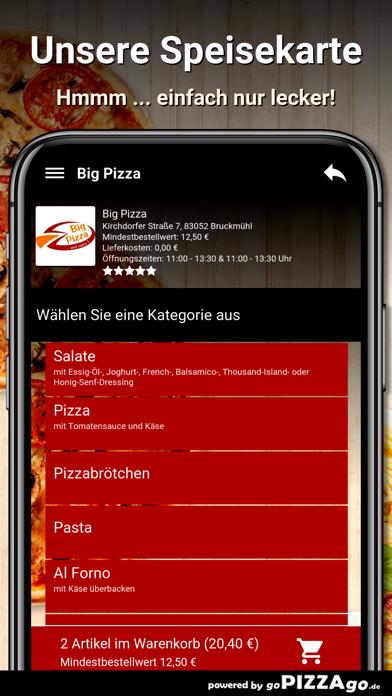 Big Pizza Bruckmühl screenshot 4