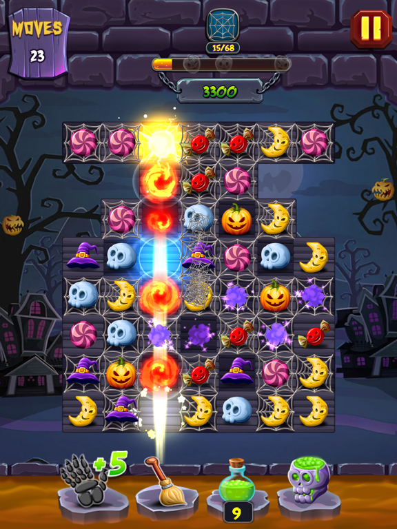Lost Pumpkin - A Match Puzzle screenshot 11