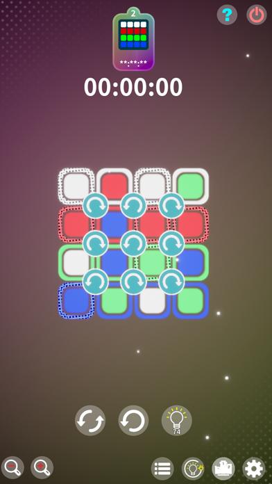 FlatCube : 2D RotationPuzzle紹介画像2