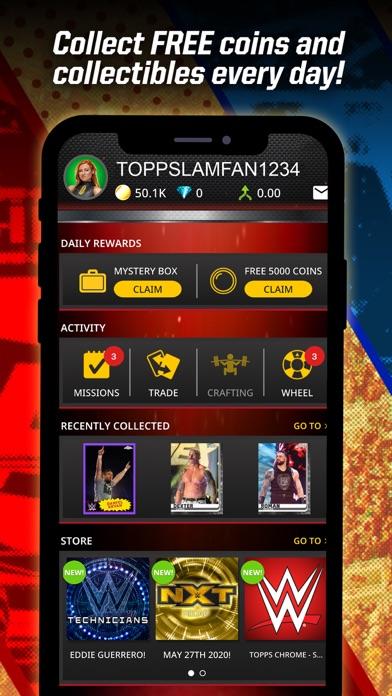 Topps® WWE SLAM: Card Trader Screenshot