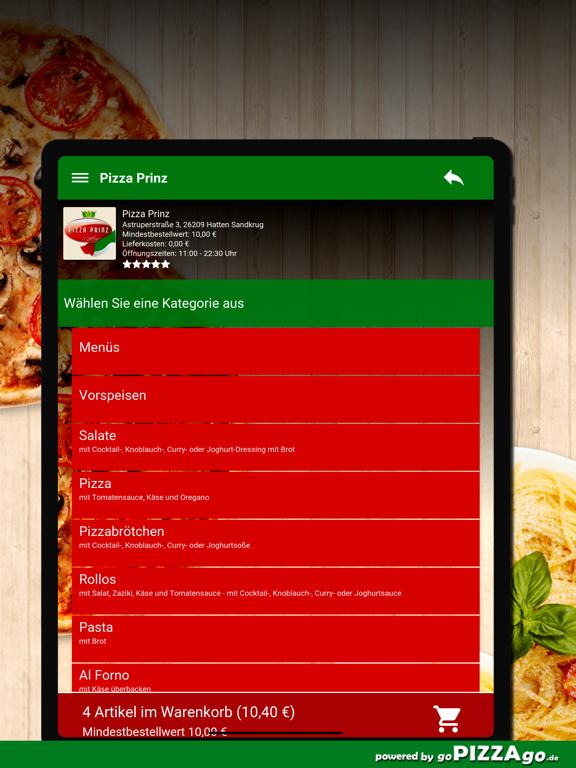 Pizza Prinz Hatten Sandkrug screenshot 8