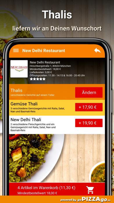 New Delhi Restaurant München screenshot 6