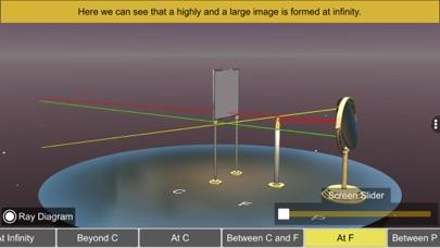 Concave mirror properties screenshot 9