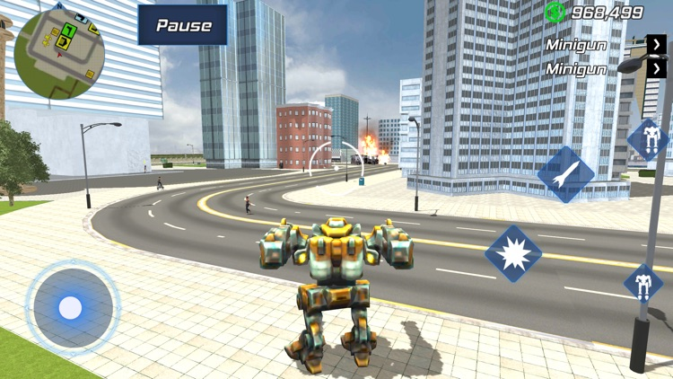 Super Rope Hero - Crime City screenshot-3