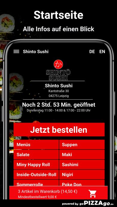 Shinto Sushi Leipzig screenshot 2