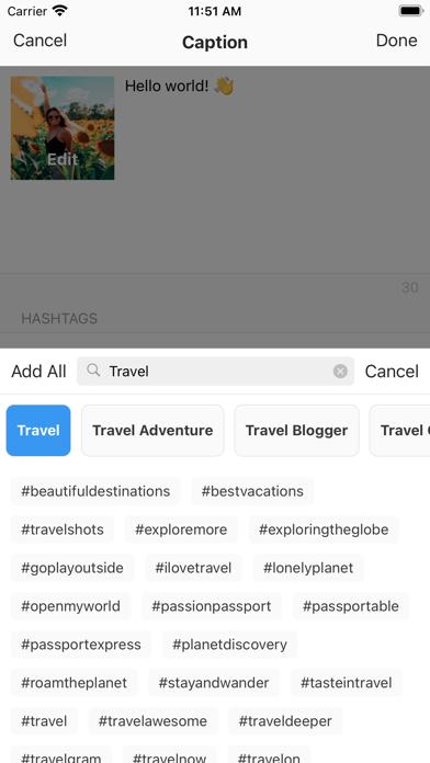Preview: Planner for Instagram Screenshot