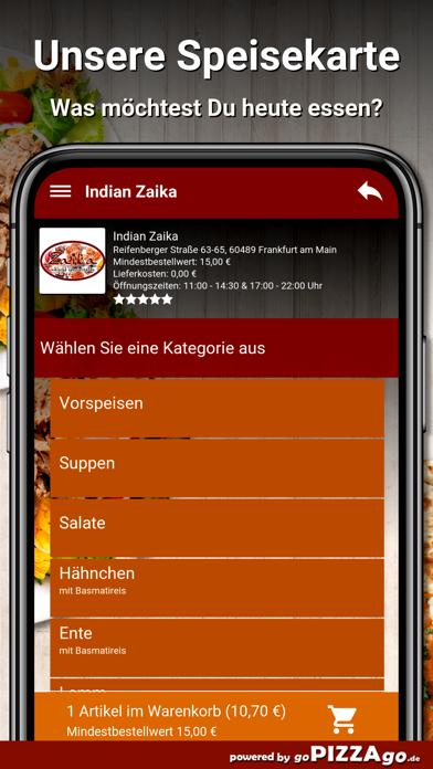 Indian Zaika Frankfurt am Main screenshot 4