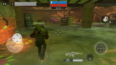 Screenshot from Afterpulse: elite army squad