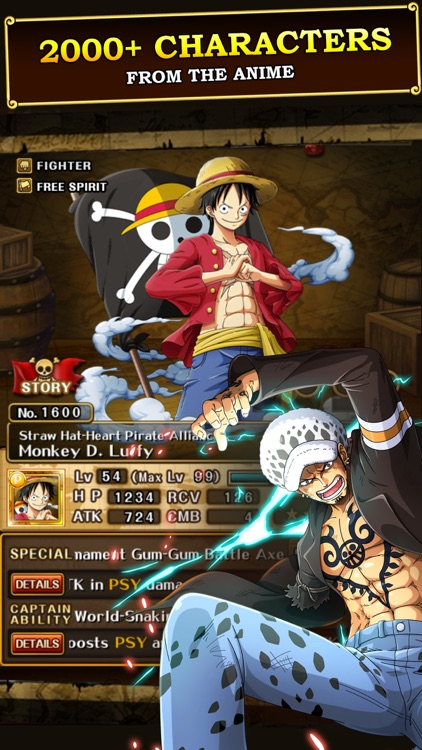 One Piece Treasure Cruise By Bandai Namco Entertainment Inc